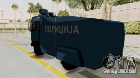 FAP Water Cannon for GTA San Andreas left view