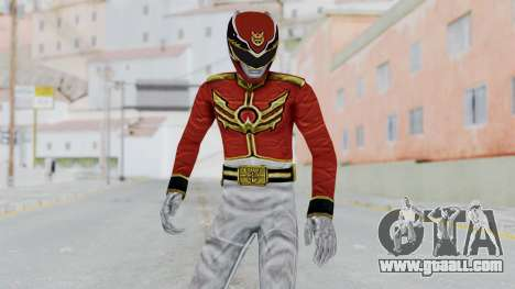 Power Rangers Megaforce - Red for GTA San Andreas