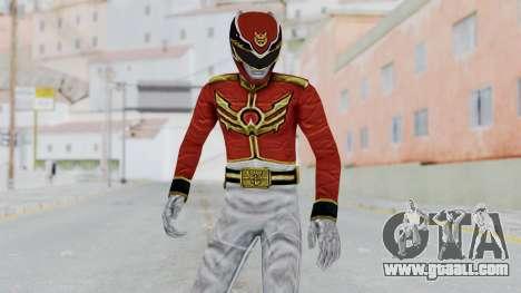 Power Rangers Megaforce - Red for GTA San Andreas