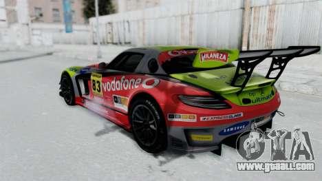 Mercedes-Benz SLS AMG GT3 PJ6 for GTA San Andreas