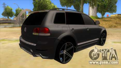 Volkswagen Touareg HQ for GTA San Andreas right view