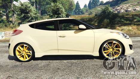 GTA 5 Hyundai Veloster Turbo left side view