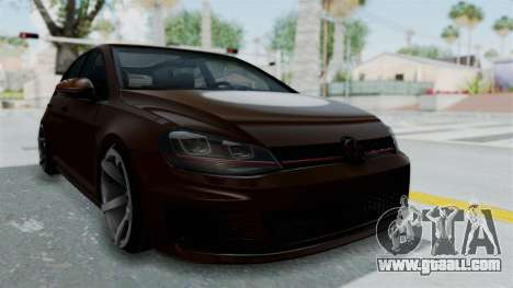 Volkswagen Golf 7 Stance for GTA San Andreas