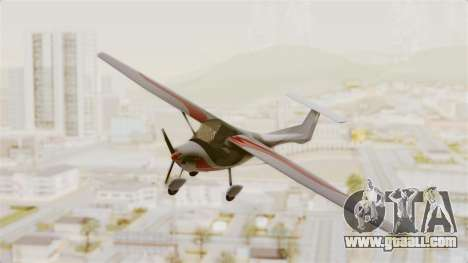 Ultralight Allegro 2000 for GTA San Andreas back left view