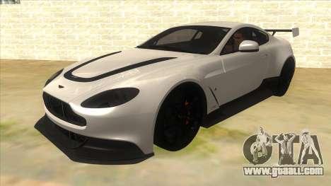 2015 Aston Martin Vantage GT12 for GTA San Andreas