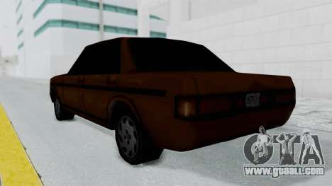 Admiral from Manhunt 2 for GTA San Andreas left view