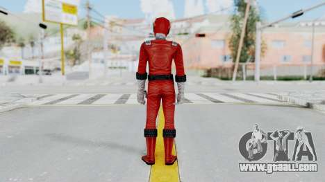 Power Rangers RPM - Red for GTA San Andreas third screenshot