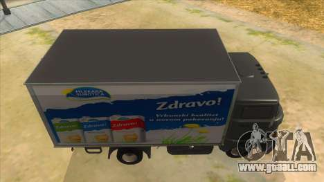 IFA W50 for GTA San Andreas inner view