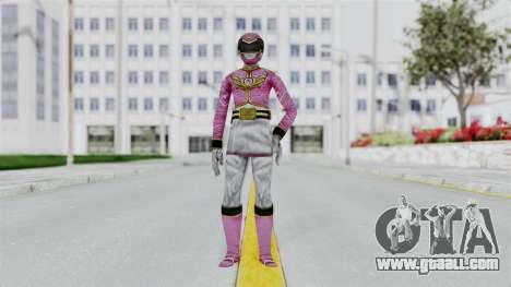 Power Rangers Samurai - Pink for GTA San Andreas second screenshot