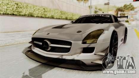 Mercedes-Benz SLS AMG GT3 PJ3 for GTA San Andreas