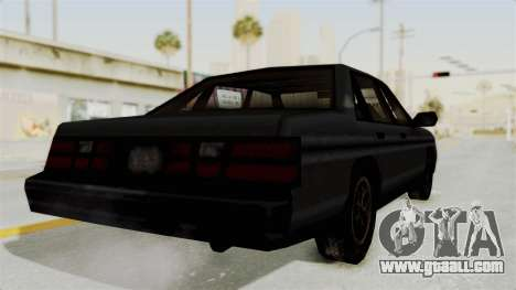 Cruiser from Manhunt 2 for GTA San Andreas right view