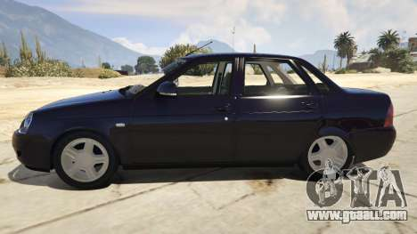 Lada Sedan Eggplant for GTA 5