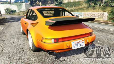 GTA 5 Ruf CTR v1.2 rear left side view