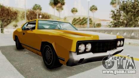 GTA VCS - Cholo Sabre for GTA San Andreas right view