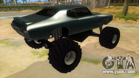 1969 Pontiac GTO Monster Truck for GTA San Andreas