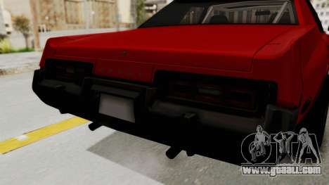 Dodge Monaco 1974 Drag for GTA San Andreas inner view