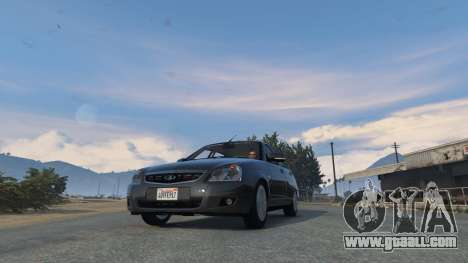 GTA 5 Lada Priora v.2.3 right side view