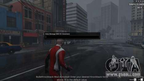 GTA 5 Bullet Knockback 1.4b second screenshot
