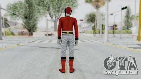 Power Rangers Megaforce - Red for GTA San Andreas third screenshot