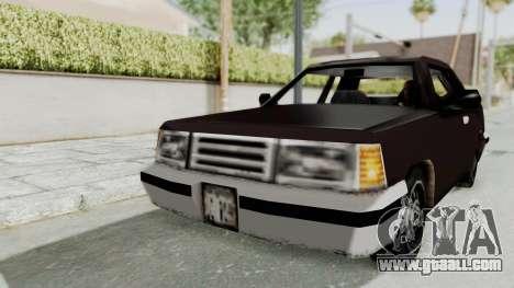 GTA 3 Manana for GTA San Andreas