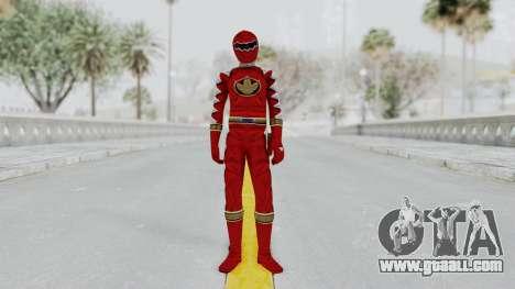 Power Rangers Dino Thunder - Red for GTA San Andreas second screenshot