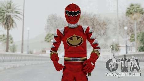 Power Rangers Dino Thunder - Red for GTA San Andreas