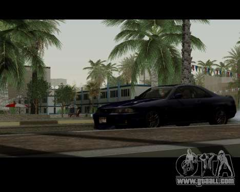 Nissan R33 GT-R Tunable for GTA San Andreas back view