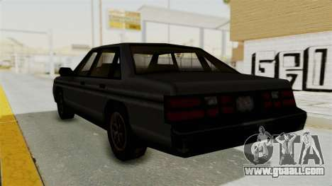 Cruiser from Manhunt 2 for GTA San Andreas left view