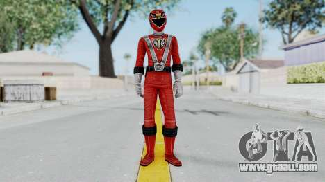 Power Rangers RPM - Red for GTA San Andreas second screenshot