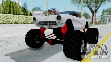 Chevrolet Corvette C1 1962 Monster Truck for GTA San Andreas