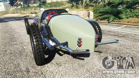 GTA 5 Fiat Mefistofele rear left side view