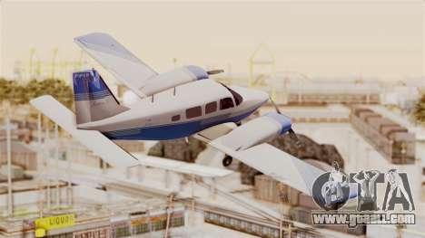 Piper Seneca II v2 for GTA San Andreas right view