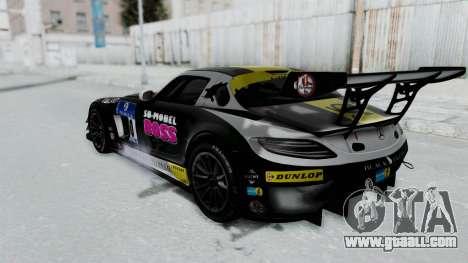 Mercedes-Benz SLS AMG GT3 PJ6 for GTA San Andreas wheels