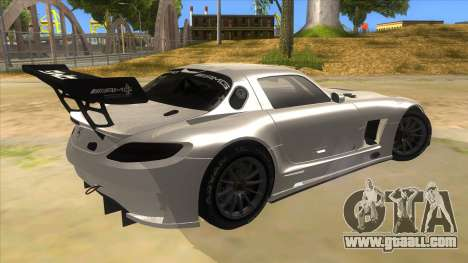 Mercedes Benz SLS AMG GT3 for GTA San Andreas right view