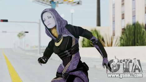 Mass Effect 3 Tali Zorah Unmasked for GTA San Andreas