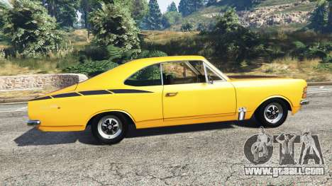 Chevrolet Opala SS4 1975 for GTA 5