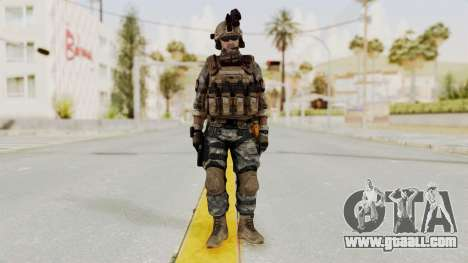 Battery Online Soldier 1 v1 for GTA San Andreas second screenshot