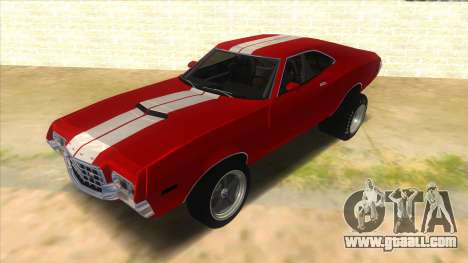 1972 Ford Gran Torino Drag for GTA San Andreas
