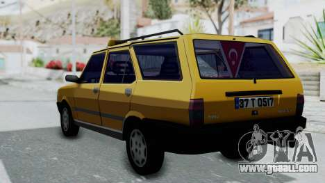 Tofas Kartal Taxi for GTA San Andreas left view