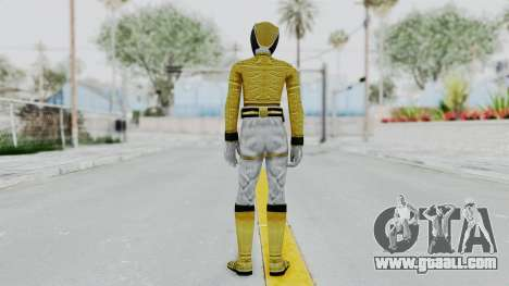 Power Rangers Megaforce - Yellow for GTA San Andreas third screenshot