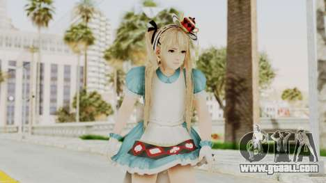 DoA5 LR Marie Rose Halloween 2015 for GTA San Andreas