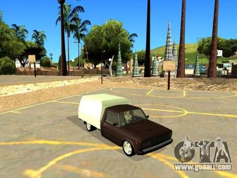Vis 2345 for GTA San Andreas inner view