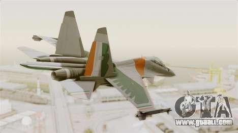 SU-30 MKI for GTA San Andreas left view