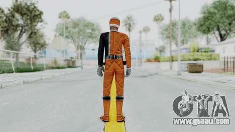 Power Rangers S.P.D - Orange for GTA San Andreas third screenshot