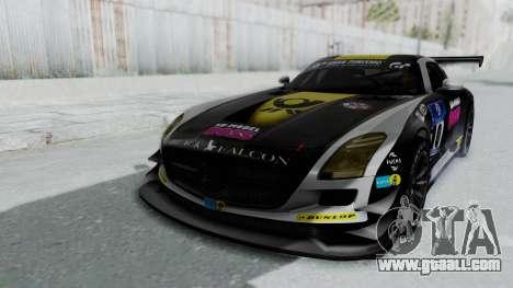 Mercedes-Benz SLS AMG GT3 PJ6 for GTA San Andreas engine