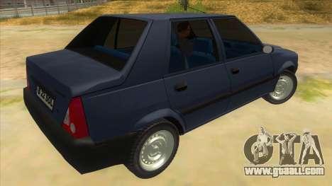 Dacia Solenza V2 for GTA San Andreas right view
