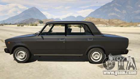 GTA 5 Lada 2107 left side view