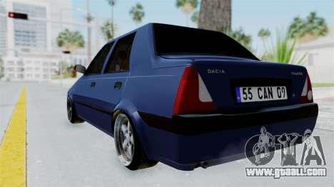 Dacia Solenza for GTA San Andreas left view