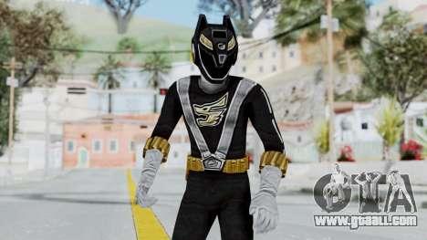 Power Rangers RPM - Black for GTA San Andreas