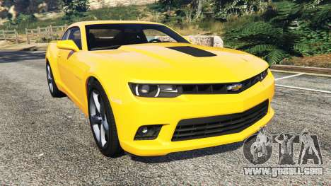 Chevrolet Camaro SS 2014 v1.1 for GTA 5